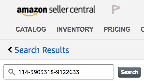 Amazon Review Order Matching Step 10 - Message search with Order ID
